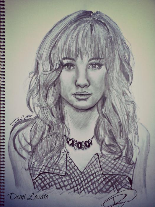 Demi Lovato by Mitsos